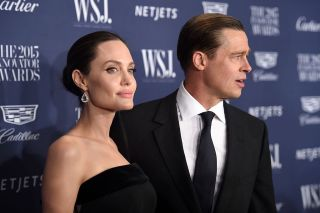 Angelina Jolie Pitt and Brad Pitt attend the WSJ Magazine 2015 Innovator Awards at the Museum of Modern Art on Nov. 4, 2015 in New York City.