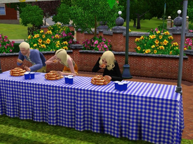 The Sims 3 Seasons Brings Weather And Festivals To The Sims World #25033