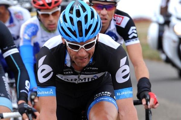 Andreas Klier in escape group, Paris-Tours 2011