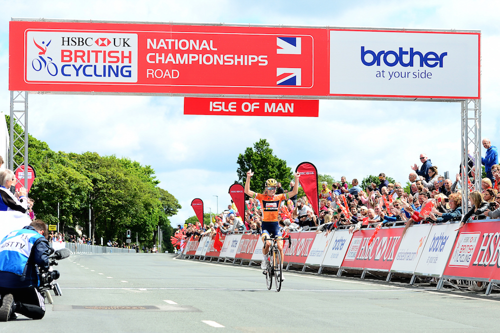 Lizzie Deignan wins her fourth British national road race title with