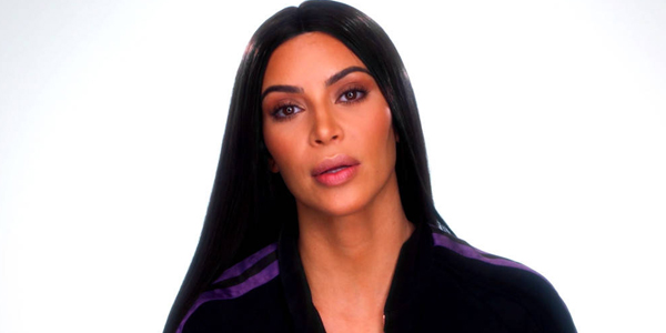 Kim Kardashian reveals news with concerned look
