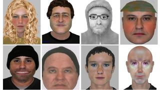 e-fit images of eight people