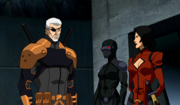 young justice outsiders deathstroke cassandra savage lady shiva dc universe