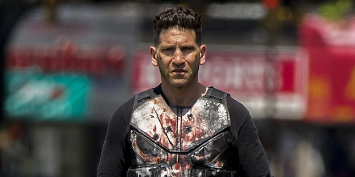 Jon Bernthal as Frank Castle on The Punisher