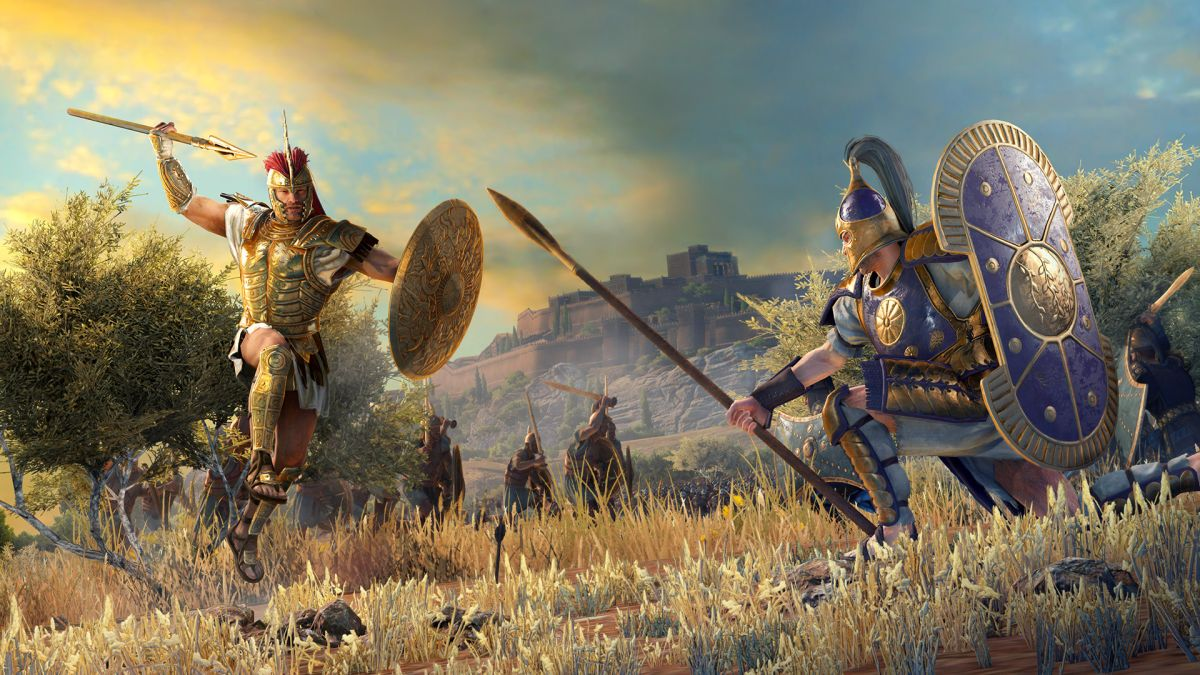 History and mythology collide in Total War Saga: Troy