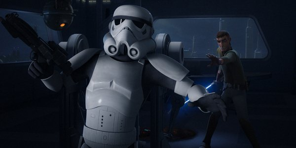 star wars rebels jedi night kanan stormtroopers