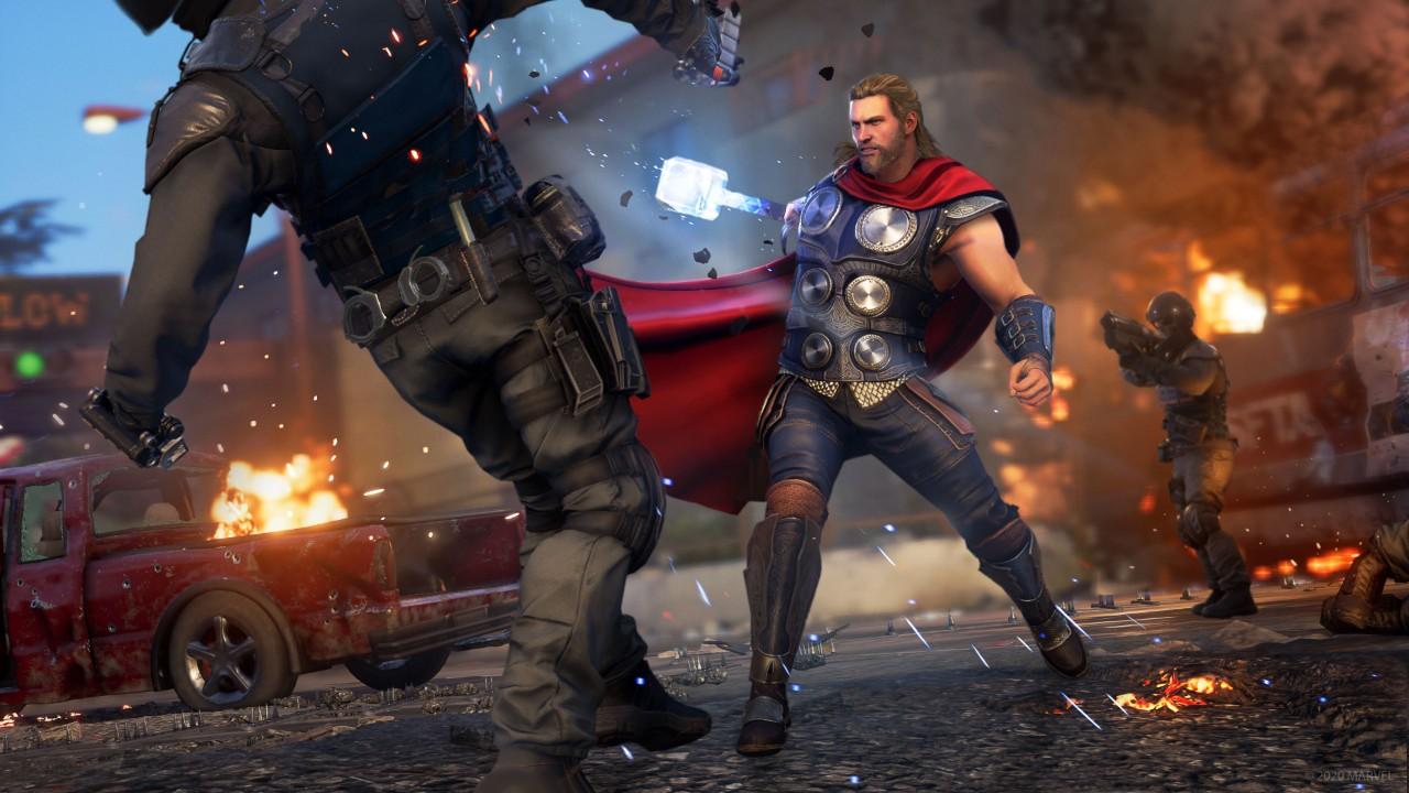 Marvel's Avenger : Image du jeu