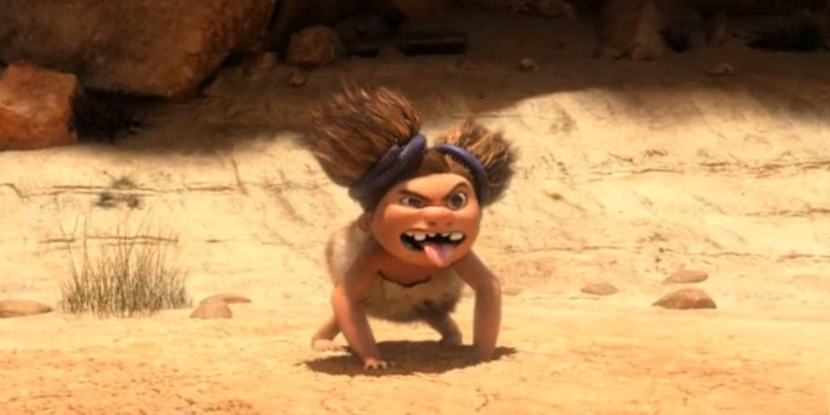 Randy Thorn as Sandy in The Croods
