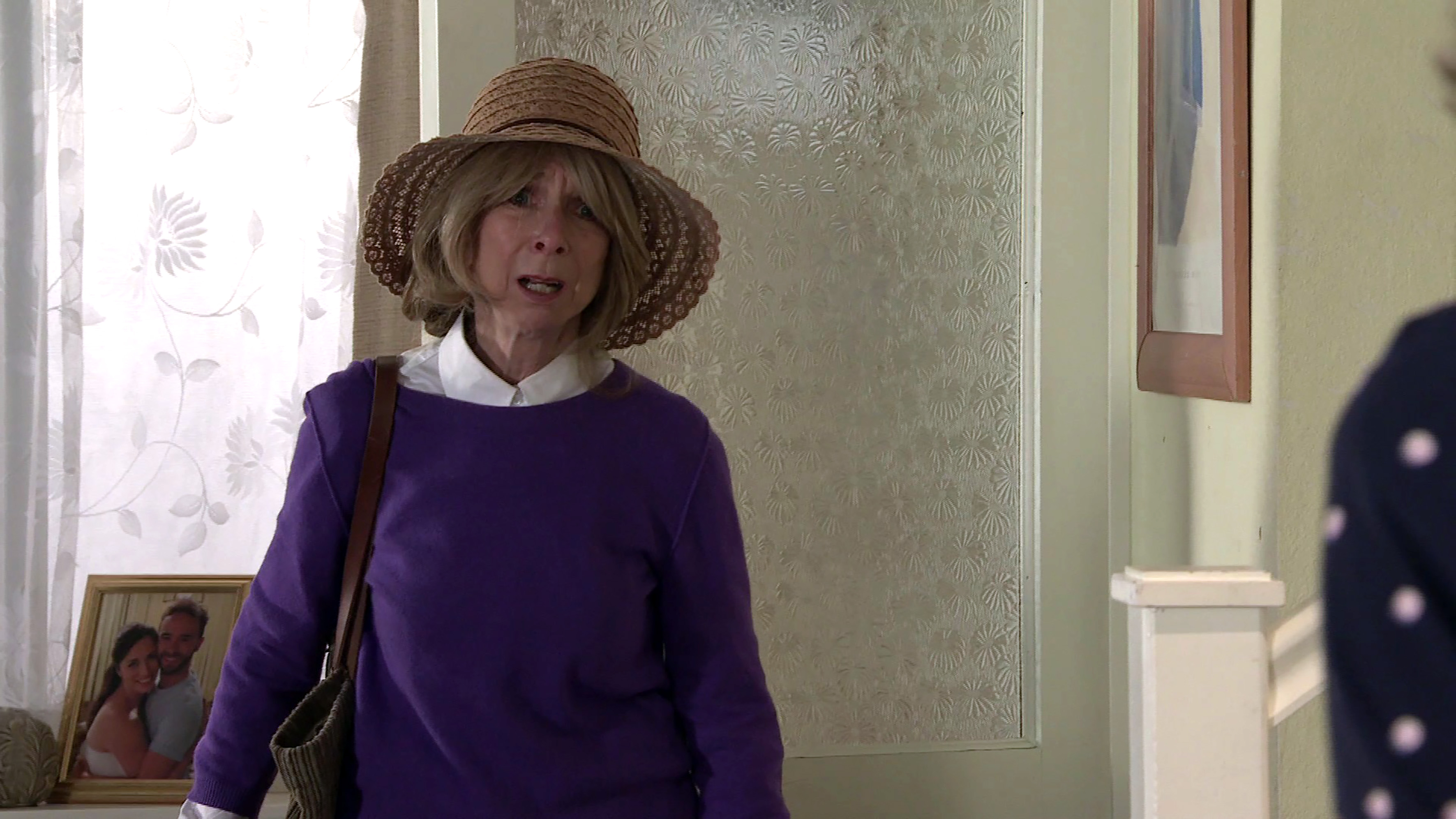 Gail is back with a bang and Audrey is thrilled to see her.