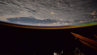 Russian cosmonaut Oleg Kononenko captured this view of Earth from space in a spectacular time-lapse video from the International Space Station during his Expedition 58 mission.