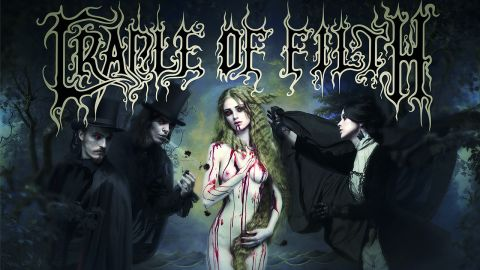 Cover art for Cradle Of Filth - Cryptoriana – The Seductiveness Of Decay album