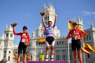 The podium of the 2019 Madrid Challenge