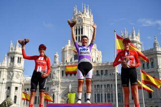 The podium of the 2019 Madrid Challenge