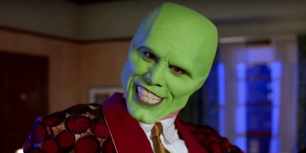 Jim Carrey is sssssmokin' as the title role in The Mask