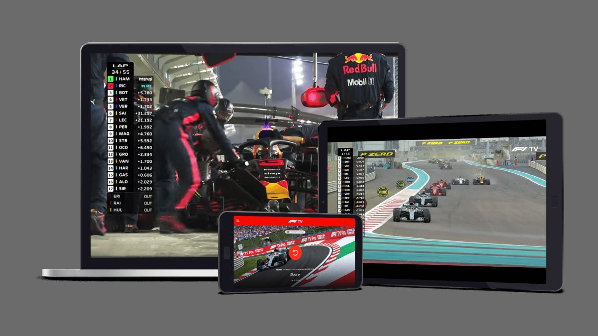 F1 TV on Android and iPhone apps: how to get it and watch on your phone or tablet