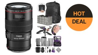 $200 Black Friday saving on Canon EF 100mm f/2.8L Macro lens – plus extras!