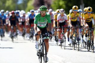 ORCIERES FRANCE SEPTEMBER 01 Peter Sagan of Slovakia and Team Bora Hansgrohe Green Points Jersey during the 107th Tour de France 2020 Stage 4 a 1605km stage from Sisteron to OrcieresMerlette 1825m TDF2020 LeTour on September 01 2020 in Orcieres France Photo by Michael SteeleGetty Images