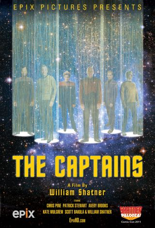 "William Shatner Documentary ""The Captains"""