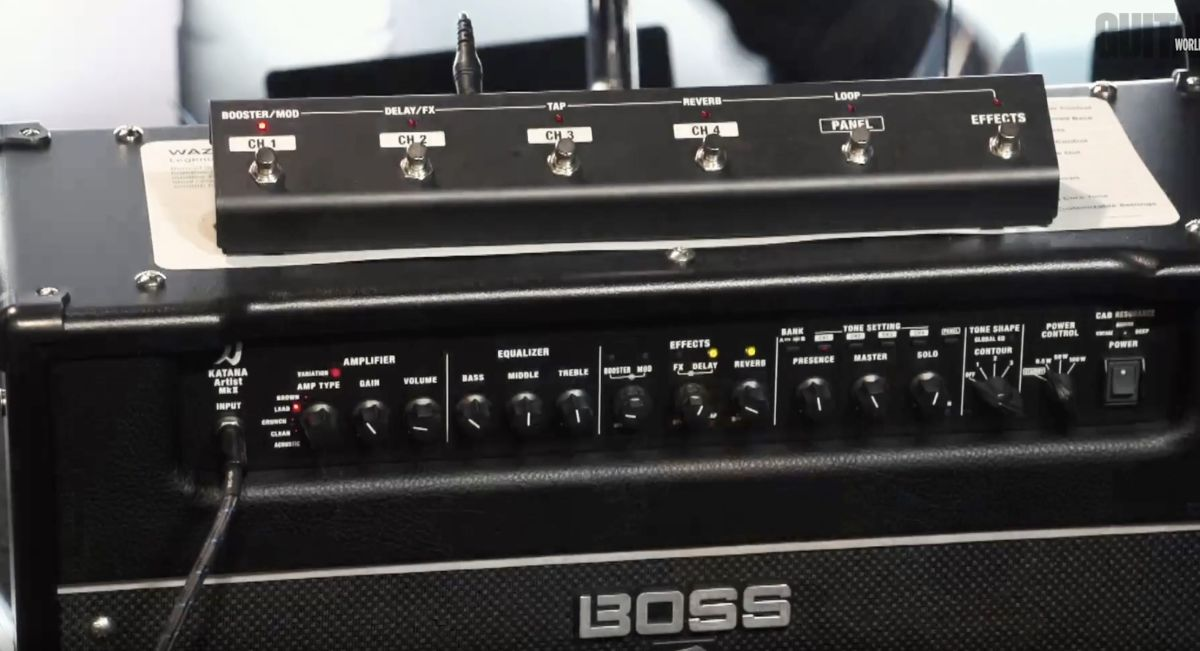 GW live at NAMM 2020: Boss shows off its ferocious Katana-Artist MkII amp