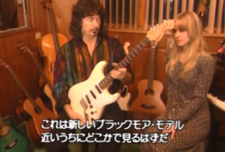 Ritchie Blackmore Shows Off His Favorite Guitars