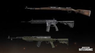 The best PUBG guns