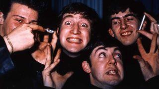 The Beatles in Hamburg in 1962