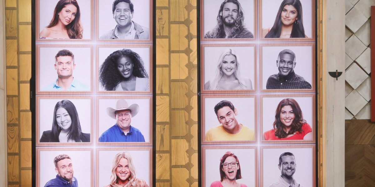 Big Brother 21 memory wall after Kat eviction CBS