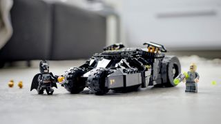 A new Lego Batman Tumbler is on the way, and it looks awesome