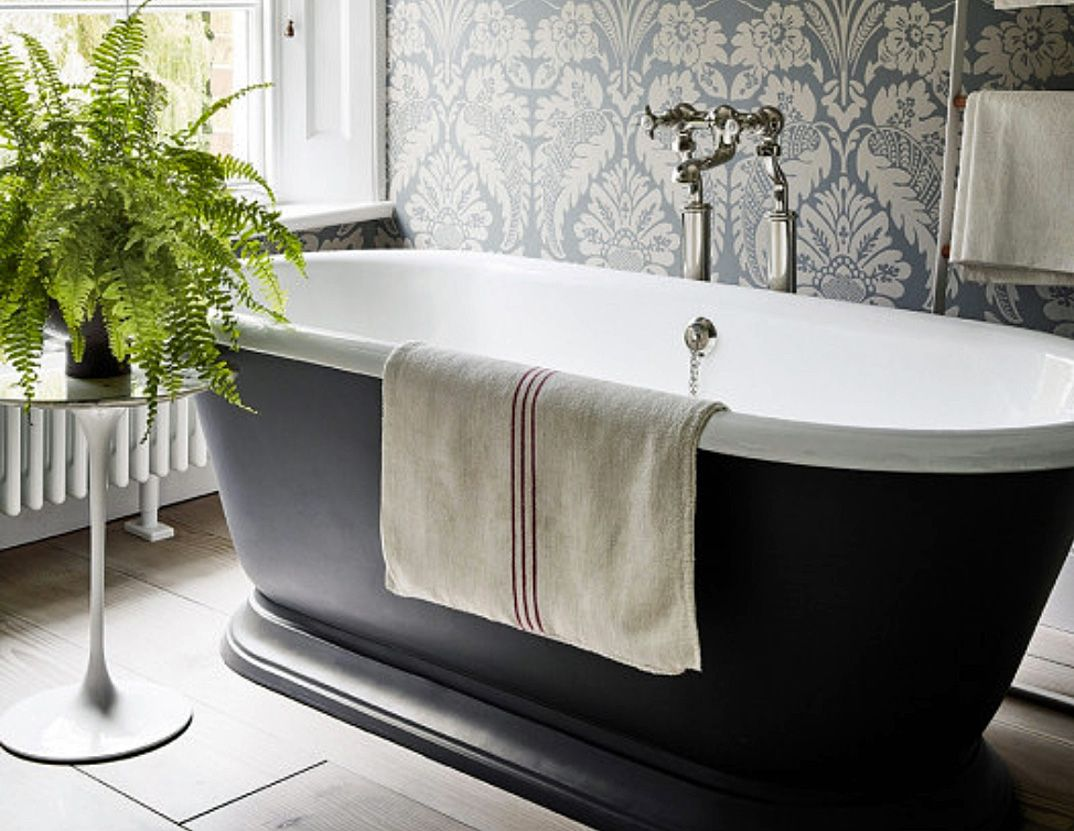 Grey Bathroom Ideas From Pale Greys To, Peach And Gray Bathroom Accessories
