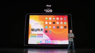 New Apple iPad features 10.2in retina display