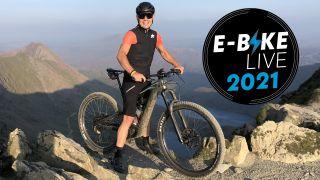 Dan Evans e-bike live