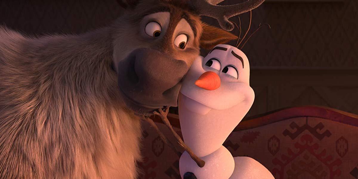 Sven and Olaf (Josh Gad) in Frozen II