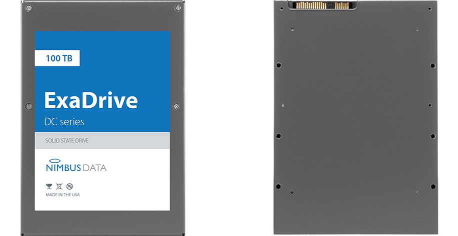 Been waiting for a 100TB solid state drive? Nimbus Data just launched one