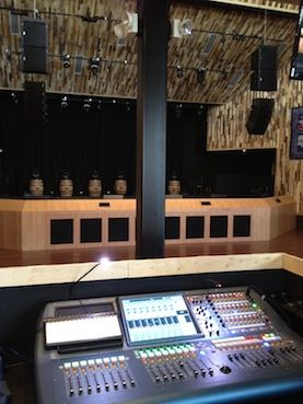 Toby Keith Bar and Grill Selects MIDAS PRO2 Console