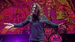 Ozzy Osbourne's giant thumb