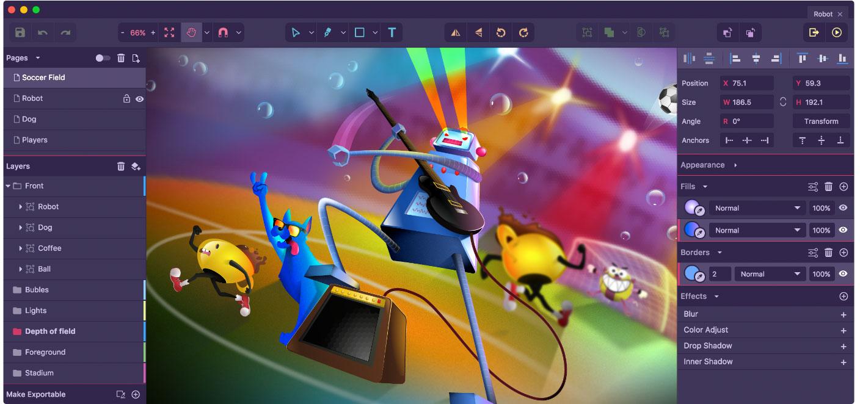 Gravit Designer - free graphic design software