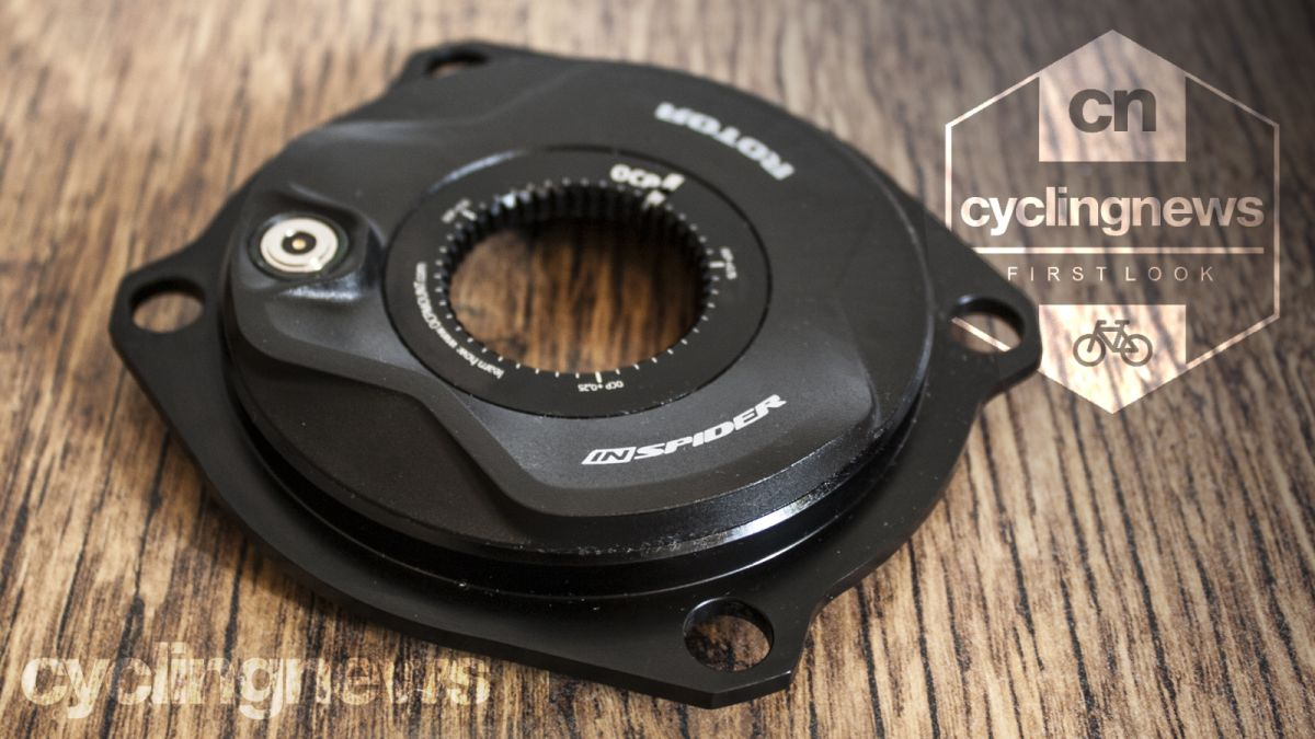 Hands on: Rotor INspider power meter - first look