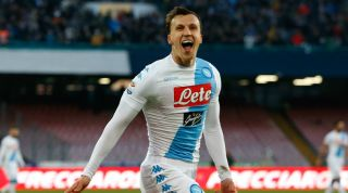 Ex-Tottenham flop Vlad Chiriches scores from the halfway line for ...