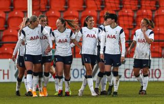 Tottenham Hotspur v Brighton and Hove Albion – FA Women's Super League – The Hive