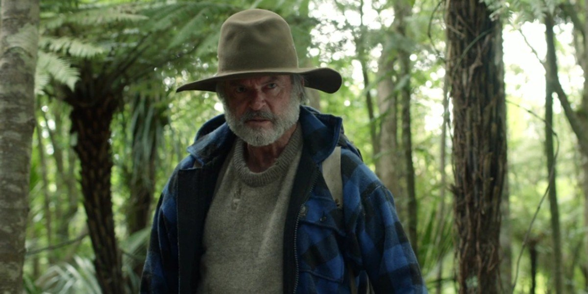 Sam Neill in The Hunt for The Wilderpeople