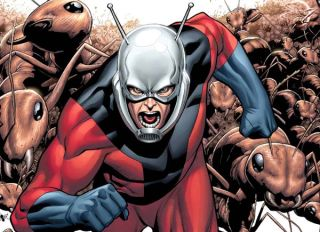 Ant-Man comic superhero