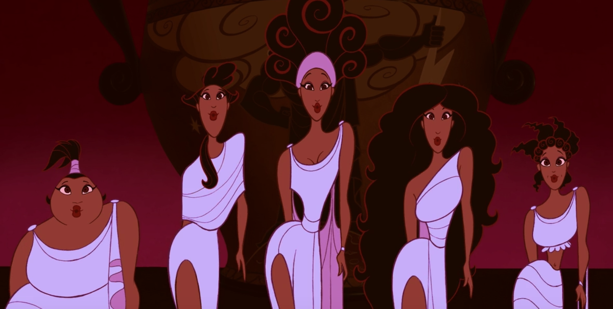 The Muses in Hercules