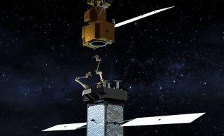 Restore-L Spacecraft art