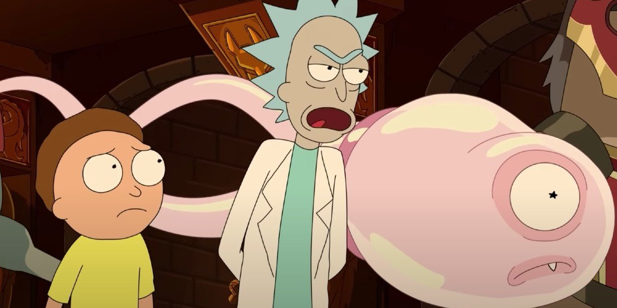 Morty Rick and Sticky Adult Swim
