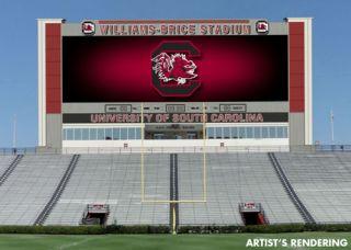 University of South Carolina Chooses Daktronics for Williams-Brice Stadium