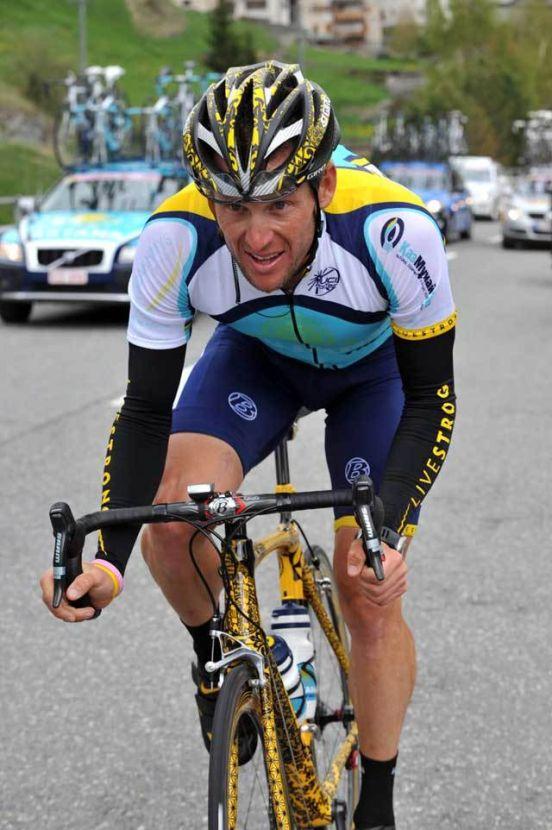 Lance Armstrong Giro 2009 stage 7