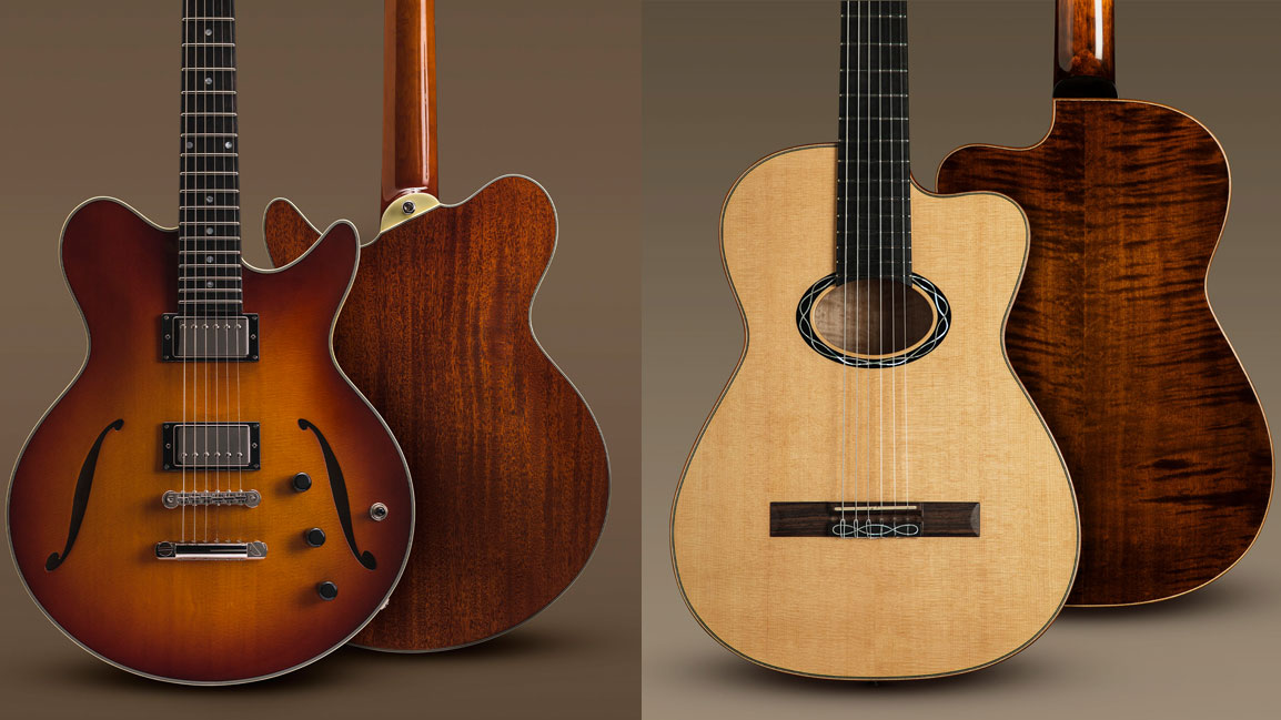 Eastman debuts all-new Romeo thinline electric guitar and nylon-string Cabaret acoustic | MusicRadar
