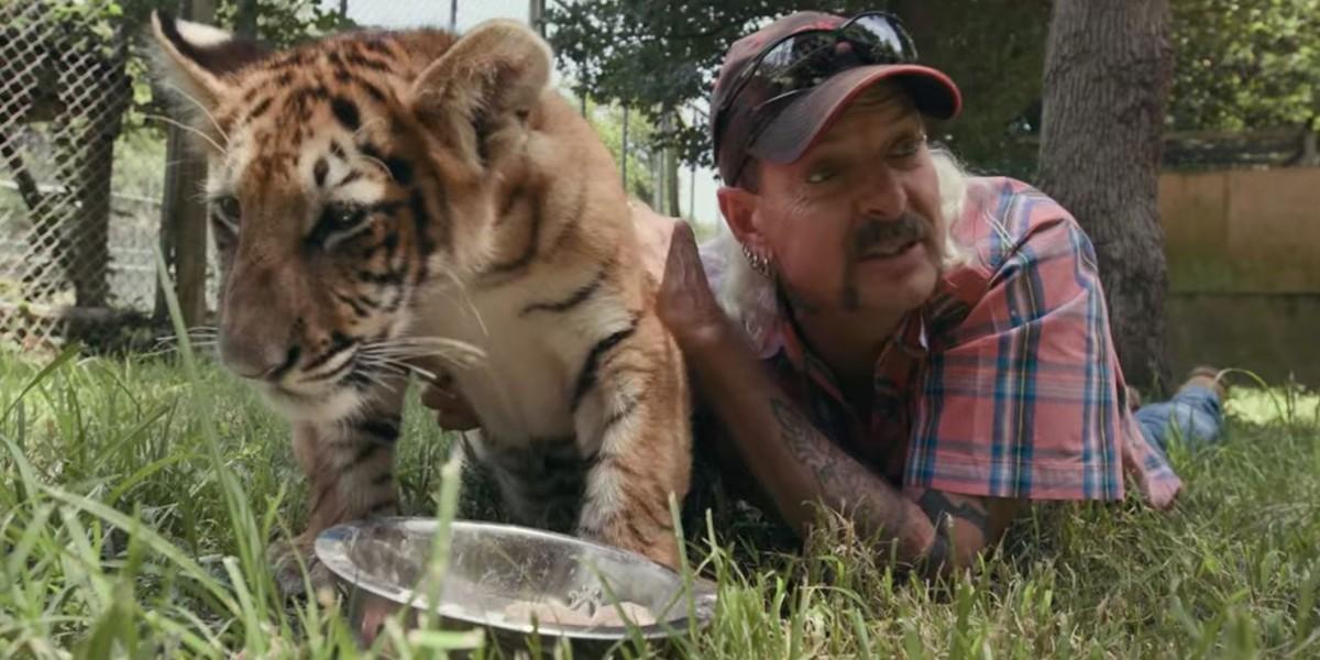 Joe Exotic in Netflix's Tiger King