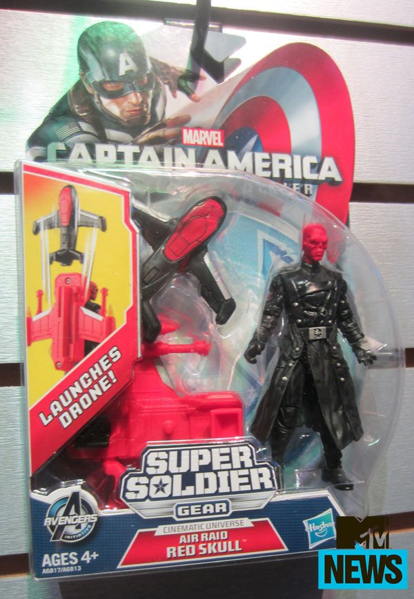 Red Skull Toy Captain America: The Winter Soldier