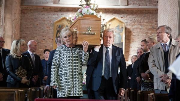 Deidre Barlow's funeral on Coronation Street